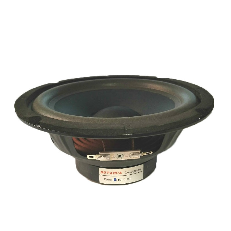SOTAMIA 1 Uds 6,5 pulgadas Altavoz de gama media Woofer fiebre Speaker...