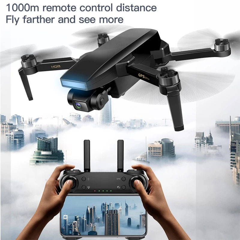 2021 New S3 Drone 4K HD Dual Camera Real-Time Transmission Foldable Height Keeps Drones WiFi FPV Helicopter Toys Gift enlarge