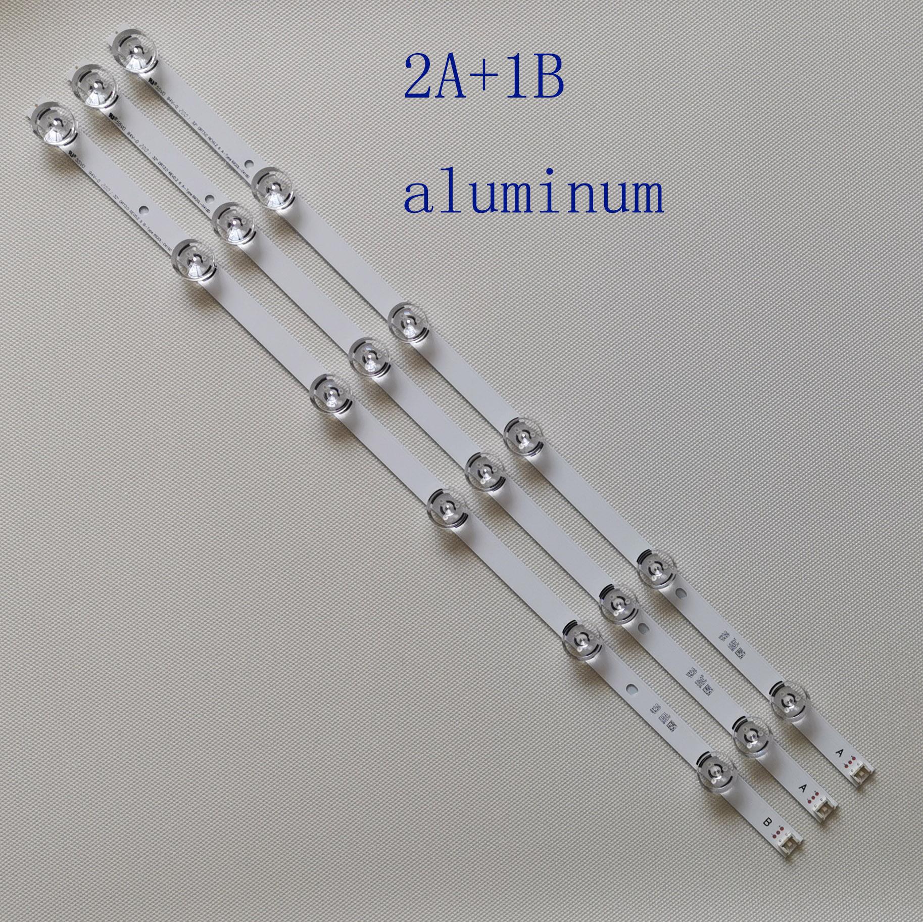 """3 uds tira de LED para iluminación trasera LG innotek DRT 3,0 32 """"_ A/B 6916L-1974A 6916L-1975A 32LB570V 32LF5610 32LF580V 32LF565B 32LB5700"""