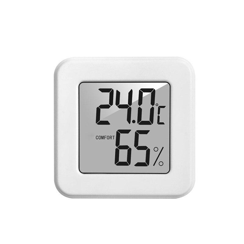 Цифровой термометр с ЖК-экраном, гидрометр, беспроводной смарт-датчик влажности и температуры для ребенка, термометр без батареи, домашний ...