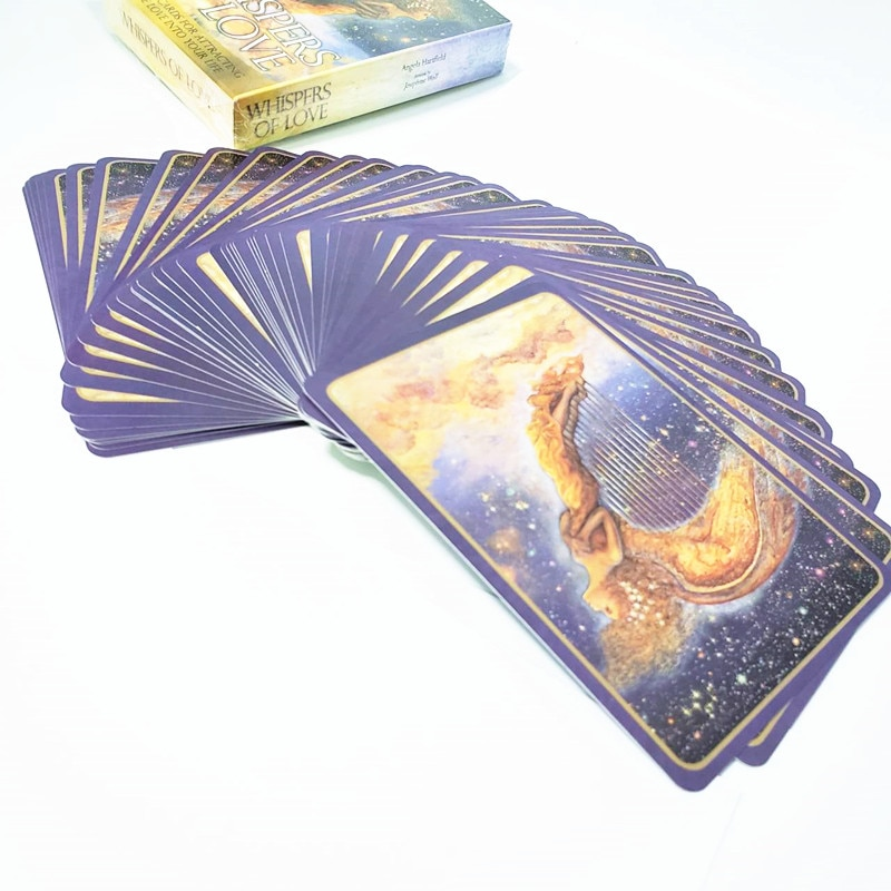 More Funny! Whispers Of Love Oracle Cards Divination Fate Tarot Deck Board Game 50 cards/sets English Language Tarot Card недорого