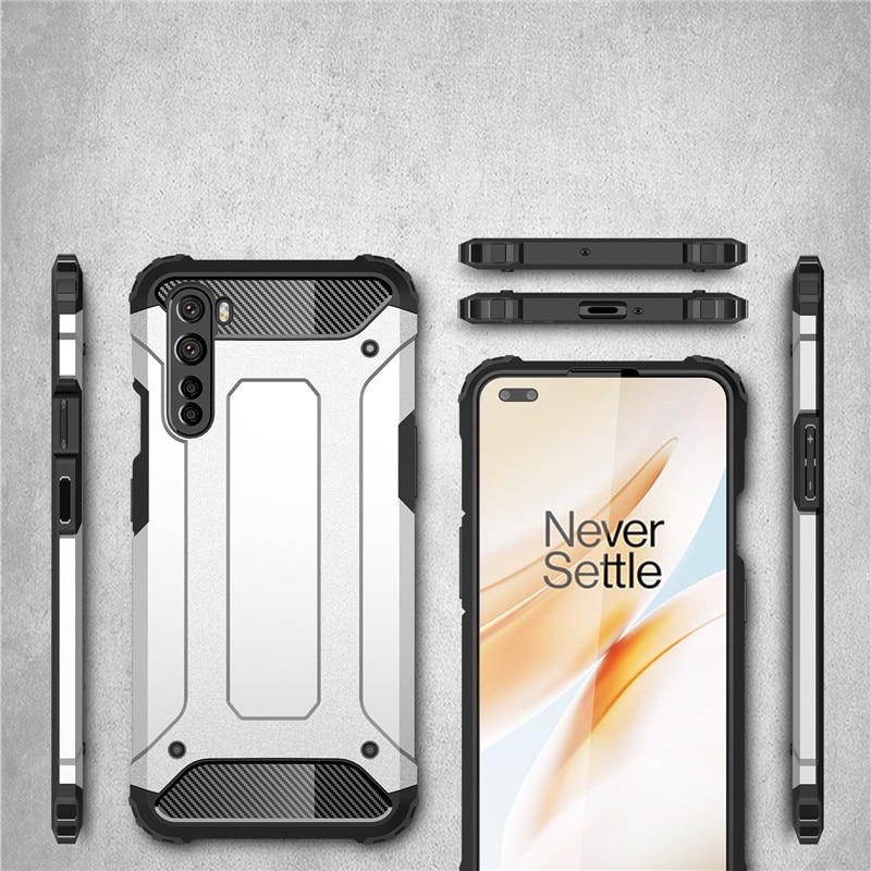 Shockproof Cover For OnePlus Nord N10 Case For OnePlus Nord N10 Cover Silicone Armor Protective Bumper For OnePlus Nord N10 5G