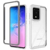 phone case for samsung galaxy a32 a72 a52 a42 s21 note 20 s20 fe a71 a51 a41 a31 a21s plua ultra 5g 4g heavy transparent cover