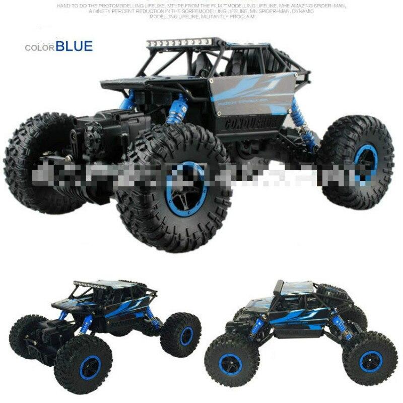 Neumático grande trepar Rock Hb-p1801-03 Vehículo de escalada de cuatro ruedas eléctrico 2,4g Control remoto Suv Control de carreras vehículo Rc Boy Toy