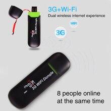 Wireless Dongle Tragbaren Ganze Hause Wifi Router Stabile Modem Durable Große Palette Netzwerk Karte Mini USB Version 3G Praktische