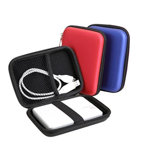 Mini funda protectora portátil para auriculares, funda para unidad de disco duro...