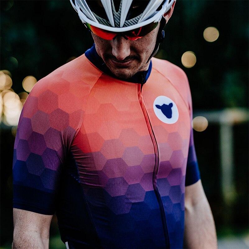 Jersey de Ciclismo de oveja negra, Tops de carreras para hombres, Maillot, uniforme de bicicleta MTB, Ropa de Ciclismo, equipo, camiseta, camiseta antideslizante, Ropa Ciclismo