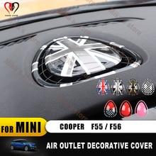 Coque de protection pour Mini Cooper F56 F55 F 55 F 56   Autocollant de climatiseur des accessoires de voiture