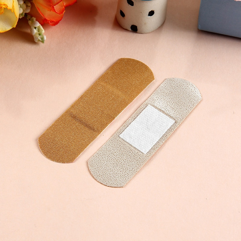 100 pcs Yunnan Baiyao Band-Aid Elastic Household Outdoor Survival Wound Dressing Sterilization and Ventilation Band-Aid