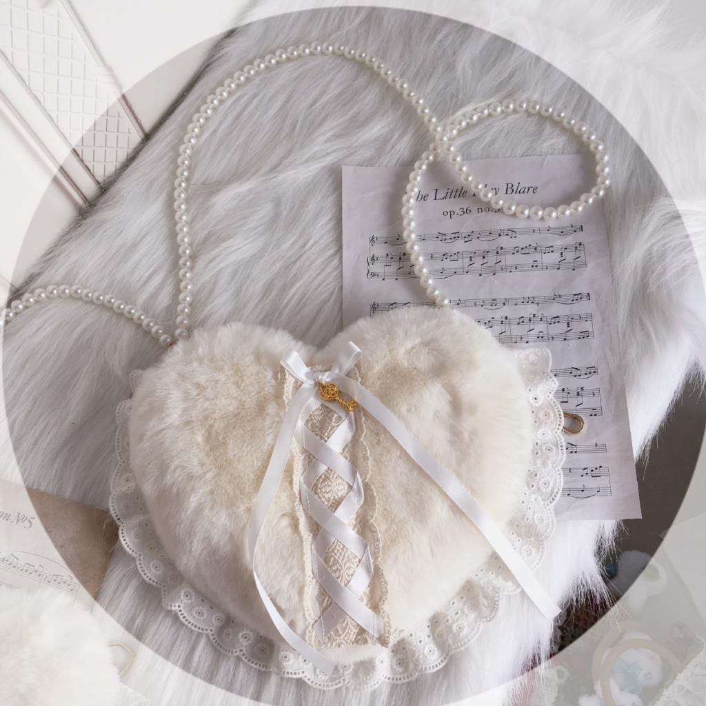 الأصلي محلية الصنع لوليتا عنصر أفخم القلب حقيبة لينة فتاة على شكل قلب حقيبة لوليتا نمط ظهره