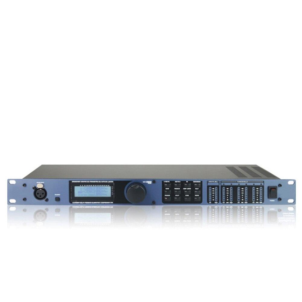 PA 2 in 6 heraus professional prozessor bühne leistung professionelle digitale audio prozessor eingebaute mehrere effekte prozessor