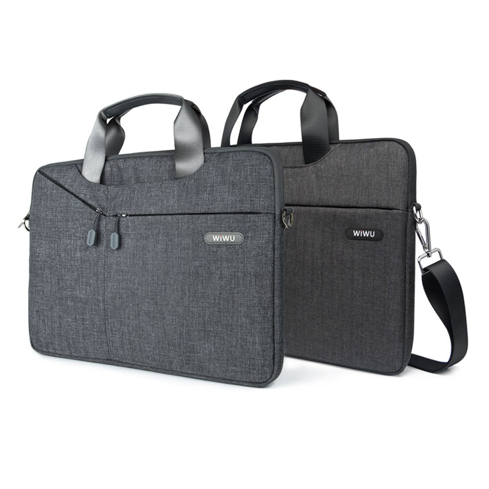 Multi-function Laptop Messenger Bag for MacBook Pro 16 15 13 inch Waterproof Laptop Bag 15.6 17.3 Carry Bag for MacBook Air