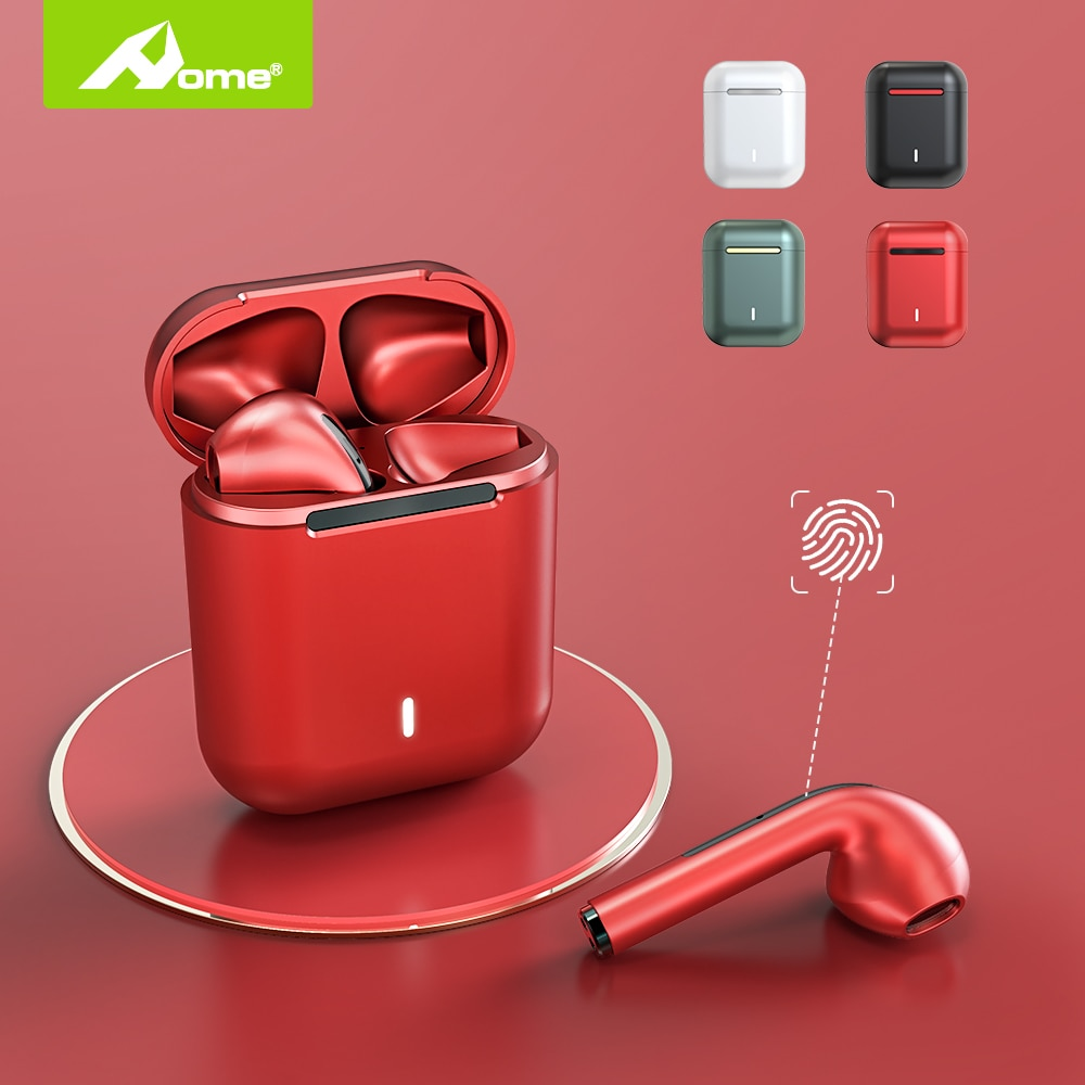 HOME J18 Wireless Earphones For Apple iPhone With Mic Original In-Ear Bass Earbuds Earpieces Cordles