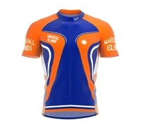 marshall islands various choices summer cycling jersey team men bike road mountain race tops riding bicycle wear bike clothes
