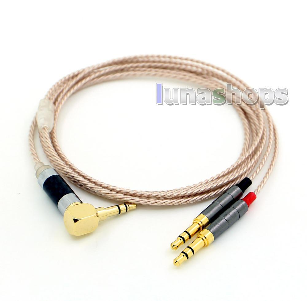 Cable de auriculares XLR equilibrado de 2,5mm de alta resolución para Focal Clear Elear Elex Elegia Stellia LN006993