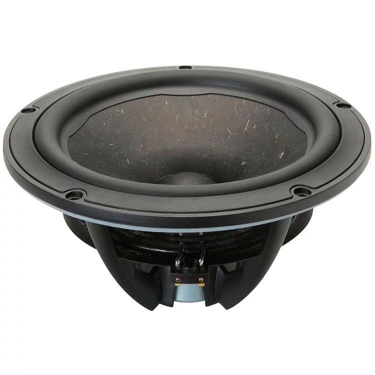 1 قطعة Vifa الأصلي NE265W-04/08 10 ''مضخم الصوت وحدة مكبر صوت السائق النيوديميوم الصب الألومنيوم الإطار الخشب اللب مخروط 4ohm/150 واط RMS