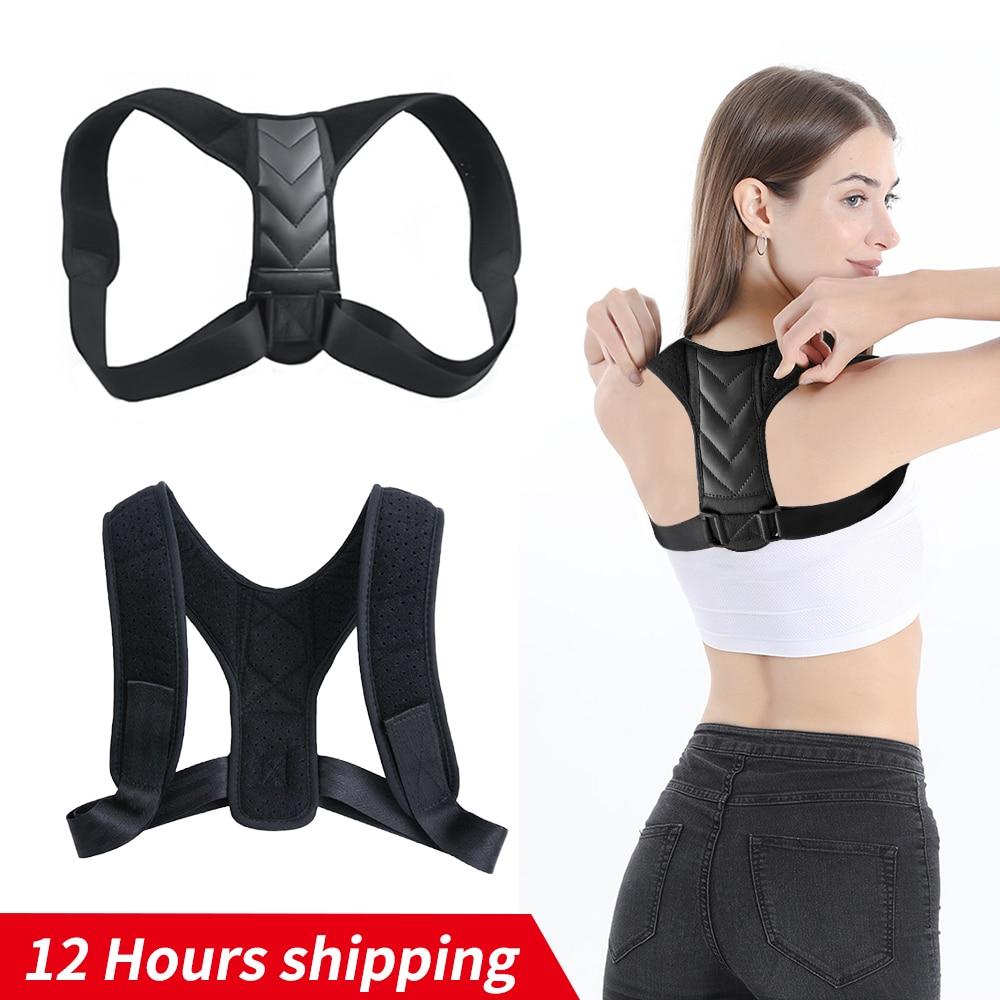Braces Supports Belt Adjustable Back Posture Corrector Clavicle Spine Back Shoulder Lumbar Brace Sup