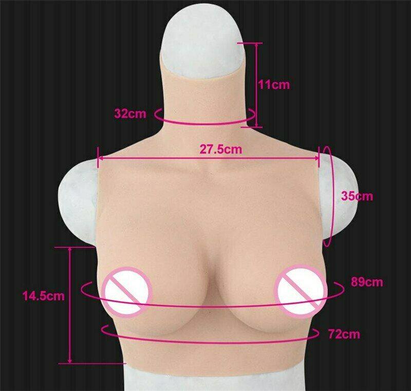 مشد جسم من السيليكون ، شكل D ، ثدي ، بدون أكمام ، للمتحولين جنسيا والمتحولين جنسيا والمتحولين جنسيا ، للنساء مع شد الصدر