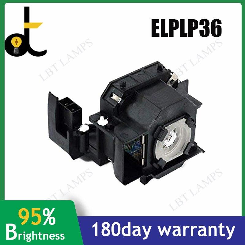 Substituição da Lâmpada do Projetor V13h010l36 para Epson Nova Powerlite Emp-s4 Emp-s42 Elplp36 – s4