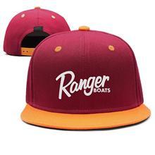 Casquette de mode réglable Ranger bateaux Logo blanc casquette de camionneur de concepteur