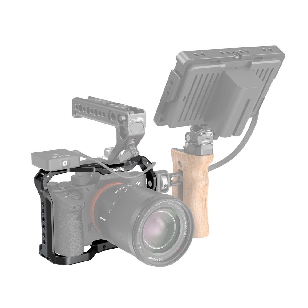 SmallRig Light Camera Cage for Sony A7 III A7R III A9 2918 enlarge