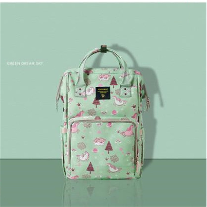 2021 Newest  Backpack   Large-Capacity Baby Portable    Outing Mom Bag