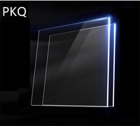 Square Acrylic Sheet Plate 1/2/3/5mmPlexiglass Sheet Transparent Acrylic Plastic Board For Shutter Hardware