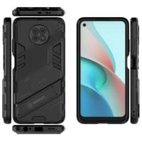 for xiaomi redmi note 9 9s pro max 8 8a 8t pro shockproof silicone kickstand armor phone case cover redmi note 9pro 2021 coque
