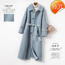 Mouton cisaillement 100% veste femmes hiver réel manteau de fourrure femme vêtements 2020 coréen laine vestes chaud daim doublure fourrure hauts RT19027