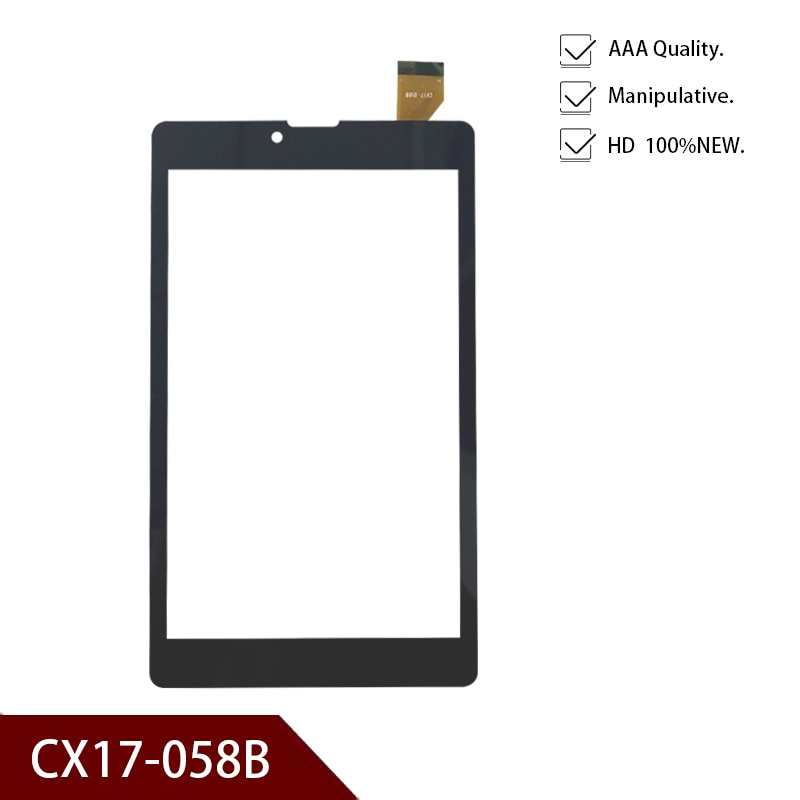 Black 7 inch for CX17-058B tablet capacitive touch screen panel digitizer glass replacement  Free Sh