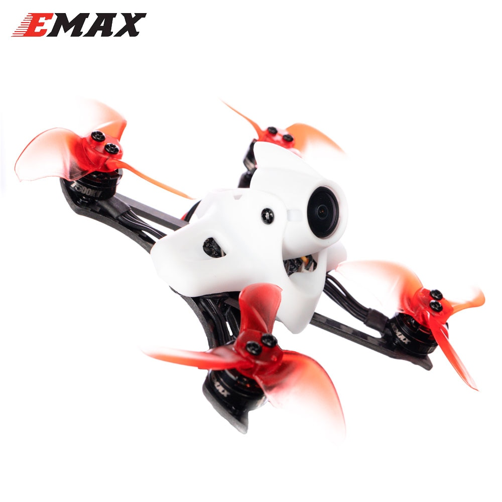 Emax TINY II Race Indoor Carbon FPV Racing Drone With F4 FC/1103 7500KV Motor/Runcam Nano 2 Camera Support 5.8G FPV Glasses Toy enlarge