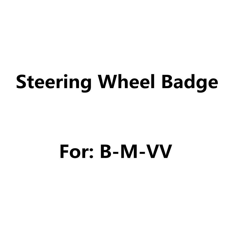 2 шт. 45 мм для BM-W, эпоксидная смола, углеродистая, черная, белая, синяя, красная, автомобильная наклейка на руль, логотип, значок, эмблема, наклейки, аксессуары для стайлинга автомобилей
