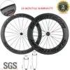 SUPERTEAM – roues de bicyclette de route en carbone mat 3k 60/88mm avec moyeu R13 6 cliquets