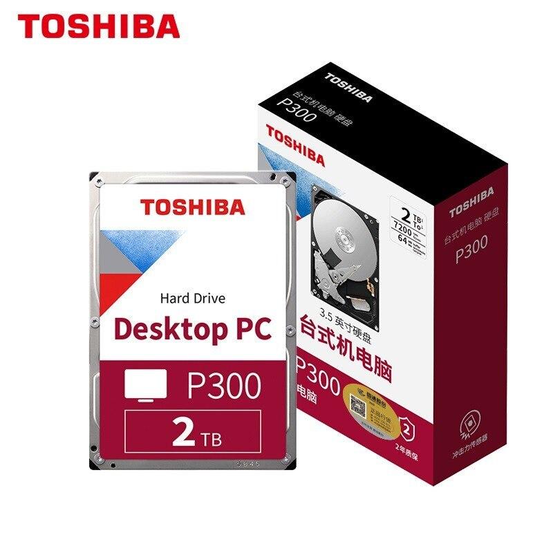 العلامة التجارية الجديدة توشيبا 2 تيرا بايت سطح المكتب الميكانيكية القرص الصلب 128MB 7200/5400RPM SATA واجهة 3.5 بوصة HDD الكمبيوتر محركات الأقراص الصلبة ...