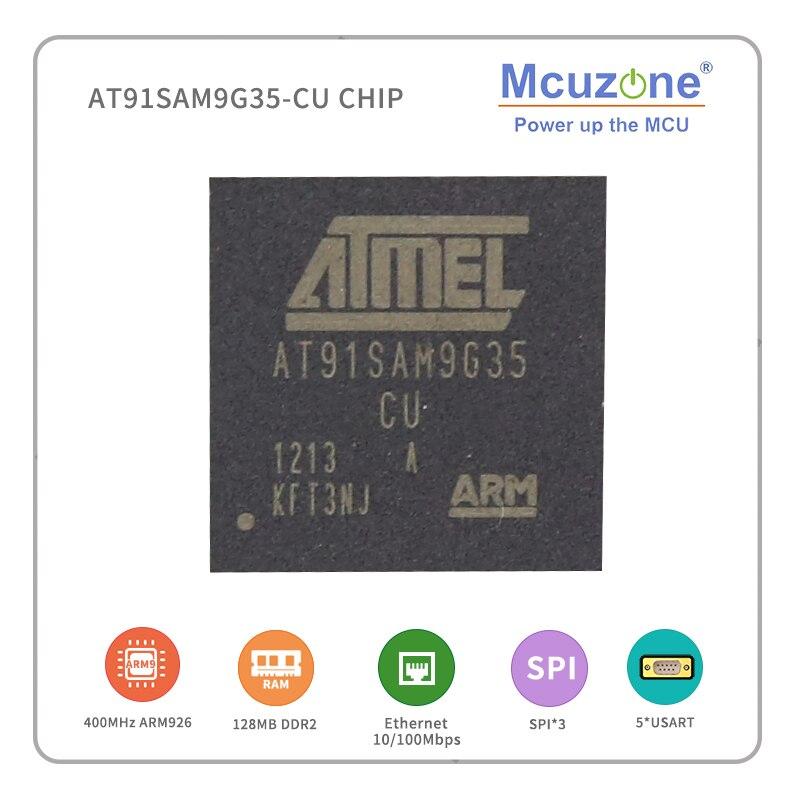 AT91SAM9G35-CU (atmel arm9) chip spi usb ARM926EJ-S 10/100 ethernet