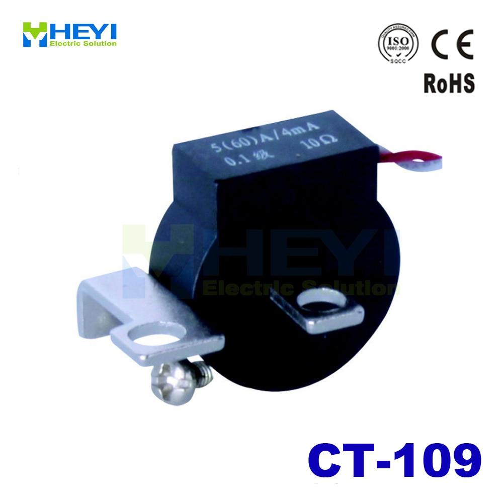 Corriente pequeña transformador de carga tipo CT-109 5A/5mA 5A/2.5mA 10A/10mA 10A/5mA transformador de corriente proveedor