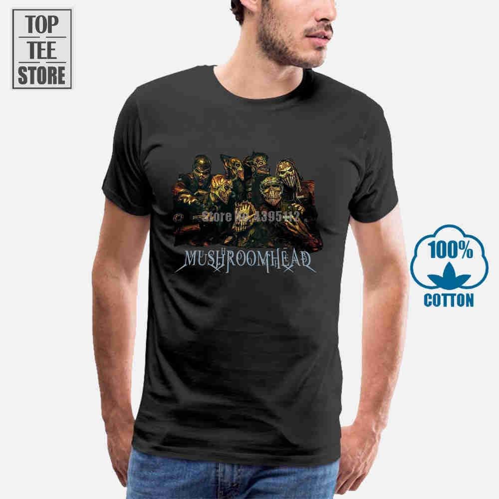 Camiseta Mushroomhead con Logo S, M, L, Xl, 2Xl, 3Xl, nueva Oficial