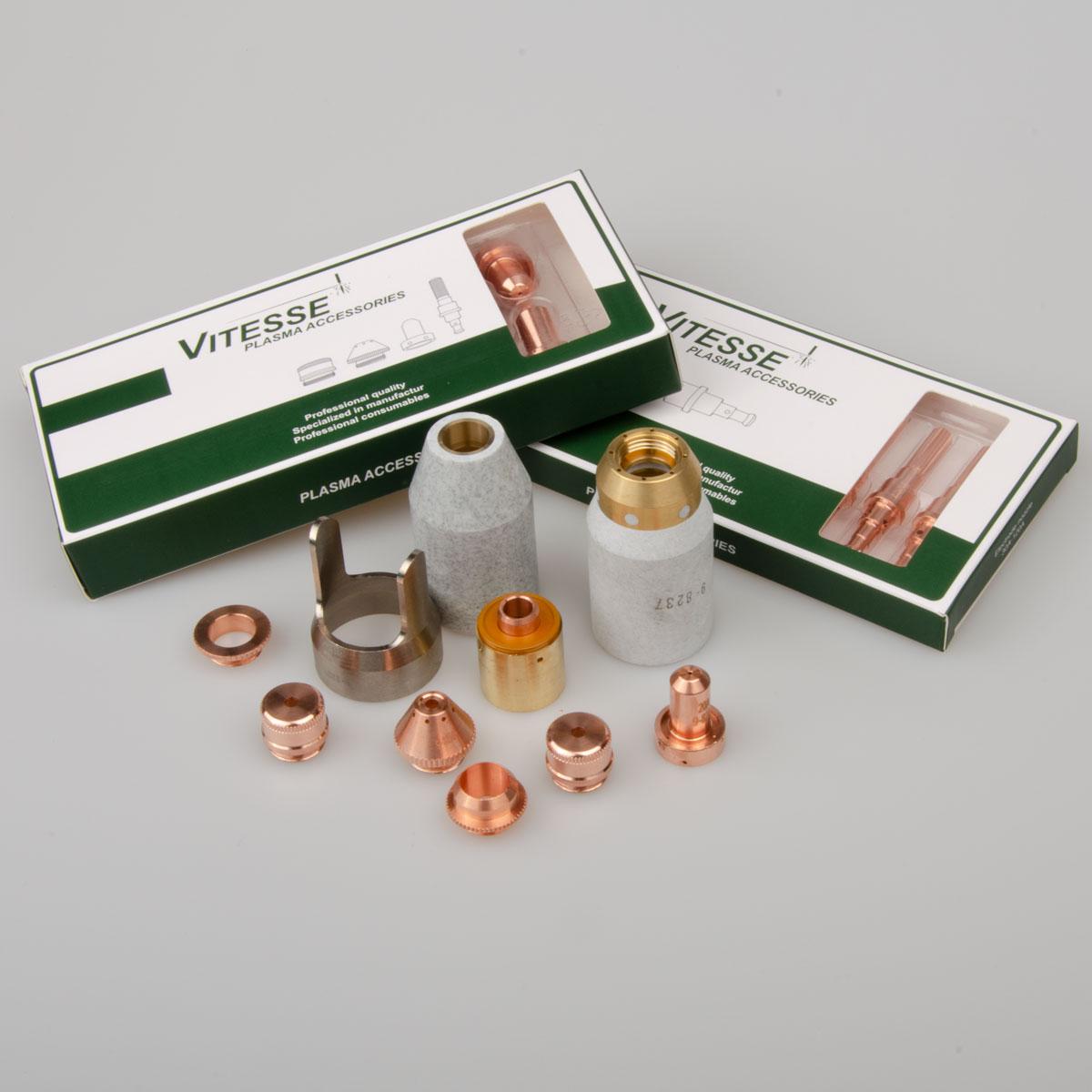 Thermal Dynamics Plasma Tips Nozzle Electrode Start Cartridge Cutter SL60/SL100 Torch 9-8205 9-8206 9-8207 9-8215 9-8232 9-8210