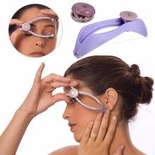 Miniremovedor de pelo Facial para mujer, depilación Facial, depilación Facial, depilación, maquillaje, herramienta de belleza para las mejillas, ceja