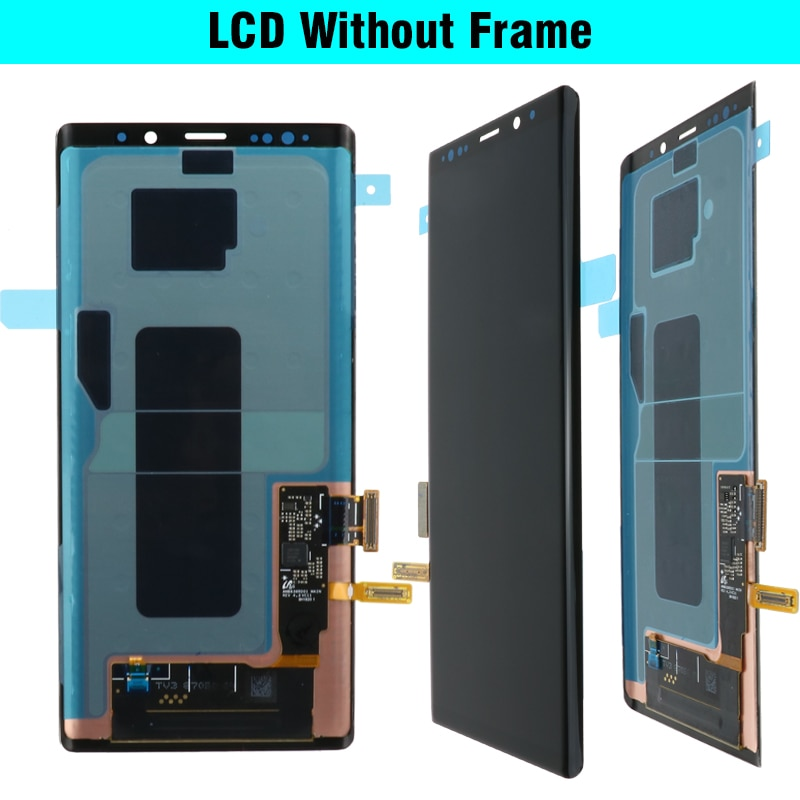 Burn in Shadows Original Samsung Galaxy Note9 LCD With Frame N960F N960U Touch Screen Note 9 N960 LCD Assembly Adhesive Tools enlarge
