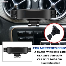 Car Mobile Phone Holder For Mercedes Benz W176 X156 W117 A Class GLA CLA Mounts Stand GPS Navigation Bracket Car Accessories