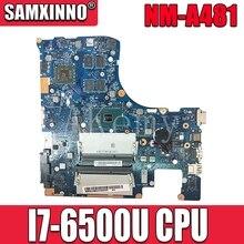 NM-A481 اللوحة الأم للكمبيوتر المحمول لينوفو Ideapad 300-15ISK I7-6500U اللوحة الرئيسية الأصلية مع بطاقة الفيديو