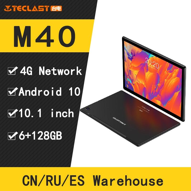 Teclast M40 4G Anruf Tabletten Octa Core Android 10 UNISOC T618 GPS 10,1 zoll IPS 1920x1200 6GB RAM 128GB RAM Tablet pc