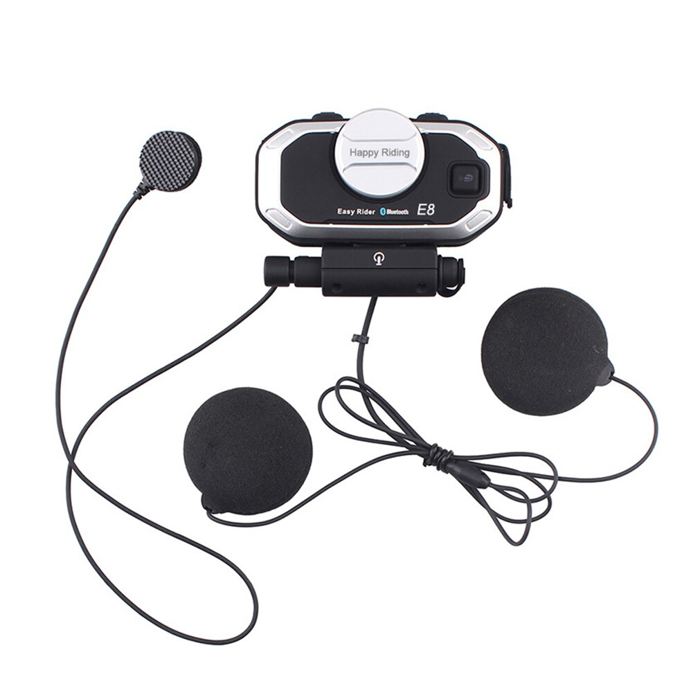 Auriculares Bluetooth 5,0 de alta velocidad para reducir el ruido de voz, manos libres, casco de motocicleta, estructura reemplazable para escuchar música