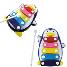 Baby Child Kid 5-Note Xylophone Musical Toys Wisdom Development Penguin