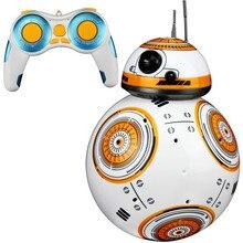 1 шт., обновленный робот Bb8 со звуком и танцами, Подарочные игрушки, 2,4 г, Bb-8 с пультом дистанционного управления, Интеллектуальный робот Bb 8, Шариковая игрушка