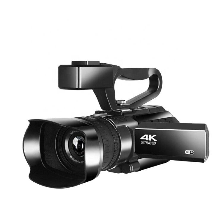 4K كاميرا فيديو رقمية 3.0 بوصة تعمل باللمس للرؤية الليلية واي فاي كاميرا كاميرا الرقمية