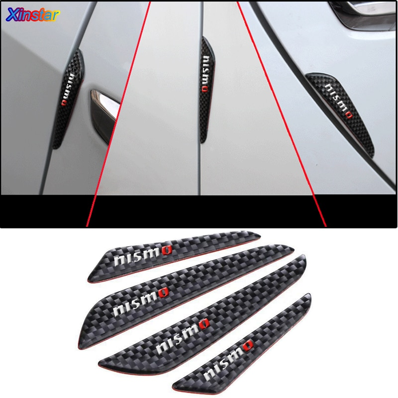 4 шт. nismo наклейки на дверь автомобиля для Nissan QASHQAI J10 Juke Leaf Micra Sentra Patrol Maxima Murano Tiida Sunny MARCH LIVINA TEANA