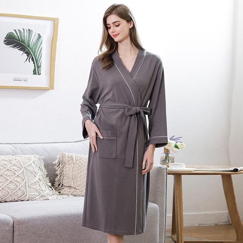 women's-bathrobe-solid-spring-autumn-waffle-long-sleeve-v-neck-ladies-kimono-robe-with-sashes-pockets-bath-robes-for-female