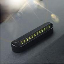 Auto Temporäre Parkplatz Karte Telefon Anzahl Karte Platte Für Volkswagen VW Tiguan Beetle Polo Bora T-ROC JETTA T5